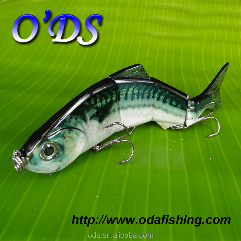 New hot stamping colors reflective popular metal joint minnow <strong>fishing</strong> lures for sale