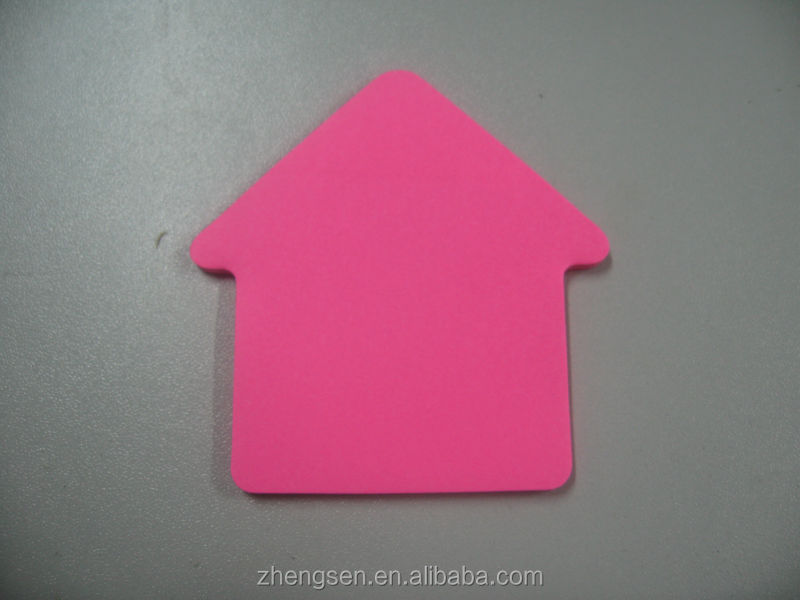 arrow shaped sticky notes with fluorescence paper / color paper sticky notes