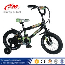 "New model 16"" wholesale kid bike unique/Hot sell Children exercise bike kids made in China/kids 4 wheel bike Trainning Wheels"
