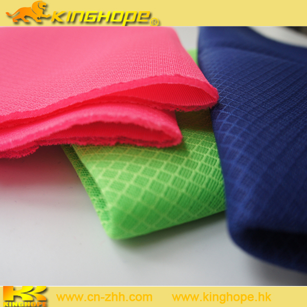 car seat and sports shoes making Colorful polyester sports 3D air mesh fabric