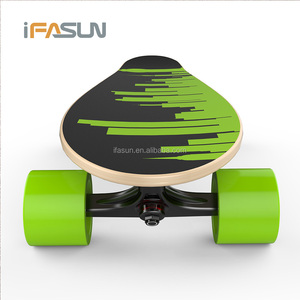 New Trendy Fish Board Boosted Electric Skateboard Kit Parts 800W Offroad 2000W Dual Motor Sport Stary Electric Skateboard