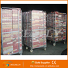 Aceally Industrial nesting wire mesh roll cage trolley
