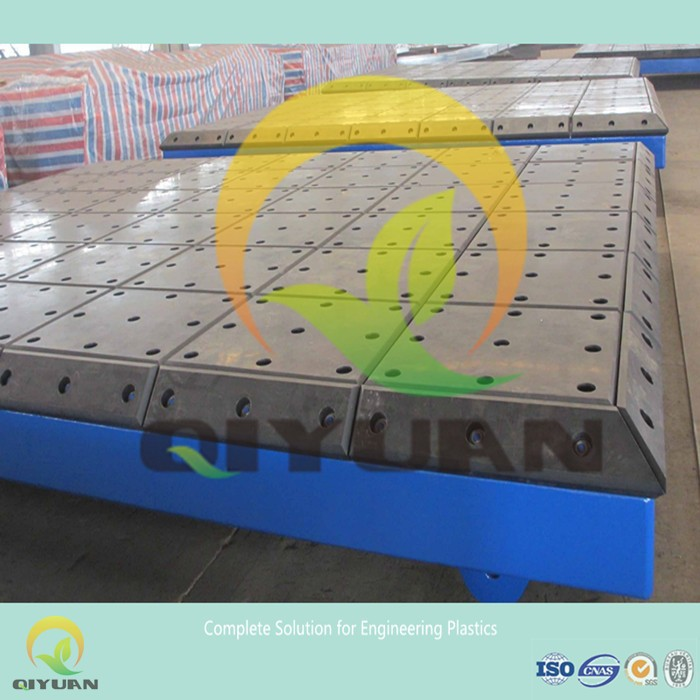 Hot sale UHMWPE fender facial pad/ marine bore worm resistant pe pad