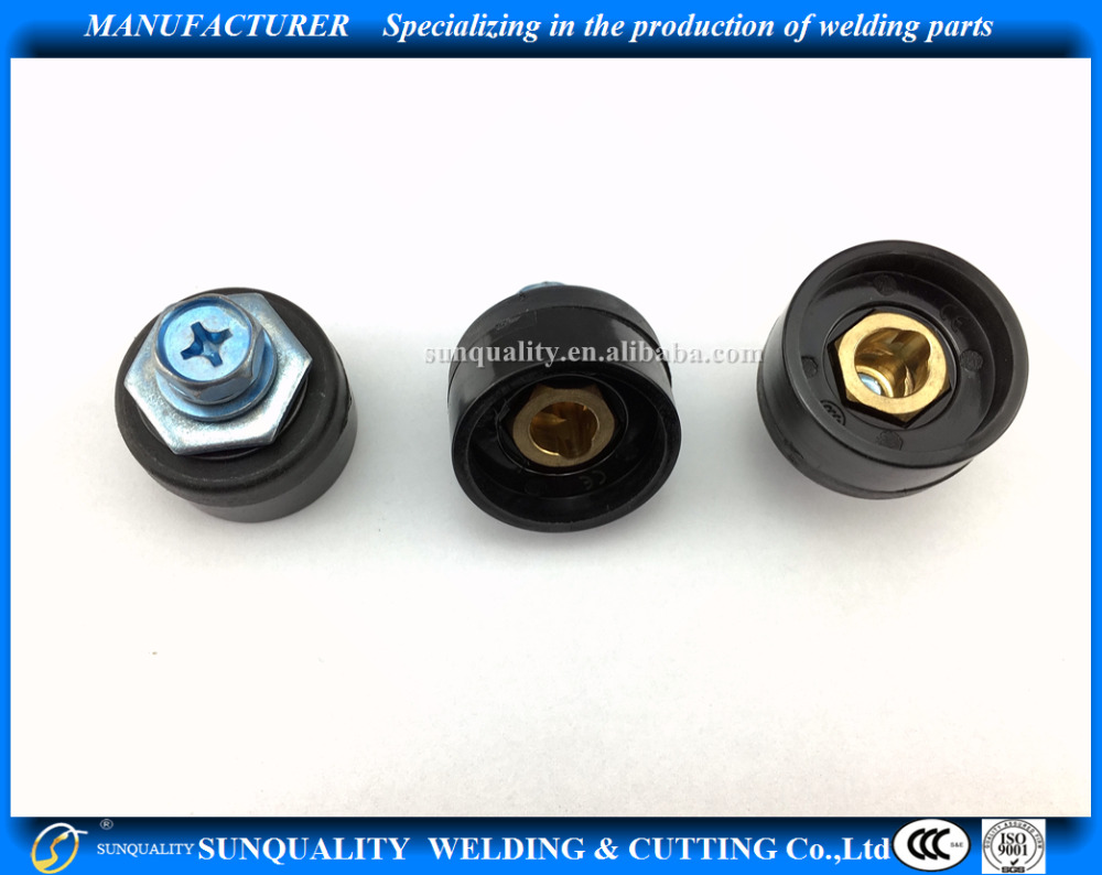 Welding Cable Connector DKJ10-25 Euro200A female Professional manufacturer