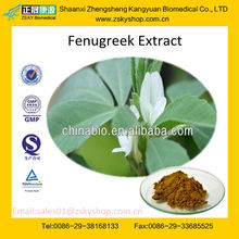 GMP certified factory supply high quality Fenugreek Extract 50% Furostanol Saponin
