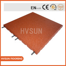 Custom cheap colored outdoor rubber paver, tile, brick, flooring mats