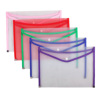 High quality plastic stationery A4/5/6 PP document box file folder envelope file