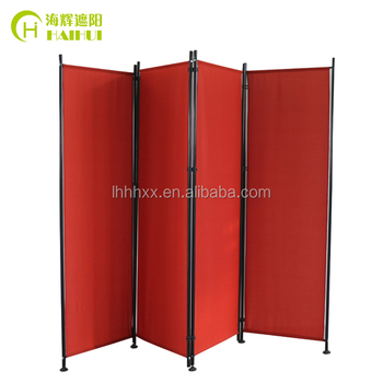 Colorful French Style Retractable Room Divider