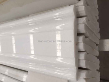 Pure White Marble Skirting Line,Granite Marble Stone Baseboard,Marble  Skirting For Flooring Tile - Buy Pure White Marble Skirting Line,Granite  Marble