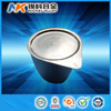 Alibaba China manufacture high purity 99.95% 150mm sizes platinum crucible