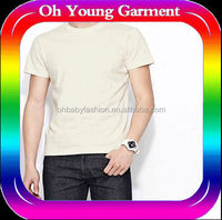 Custom Casual T Shirts Sublimation Running Shirts Cloth Fabric Wholesale Bulk linen Fabric 100% COTTON casual t shirT