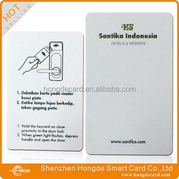 Rfid Hotel Key Card Use For Onity Saflok Kaba Llco Miwa