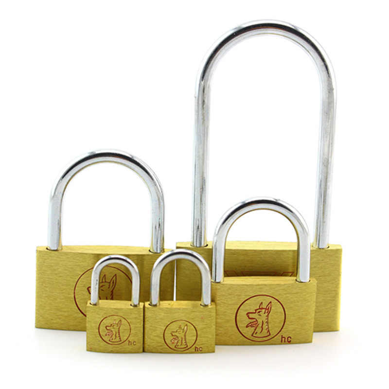 Wholesale Long Padlock Key Alike Warehouse Garage Brass Padlock