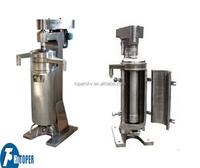 coliform bacteria separator of tubular centrifuge, solid liquid separation centrifuge