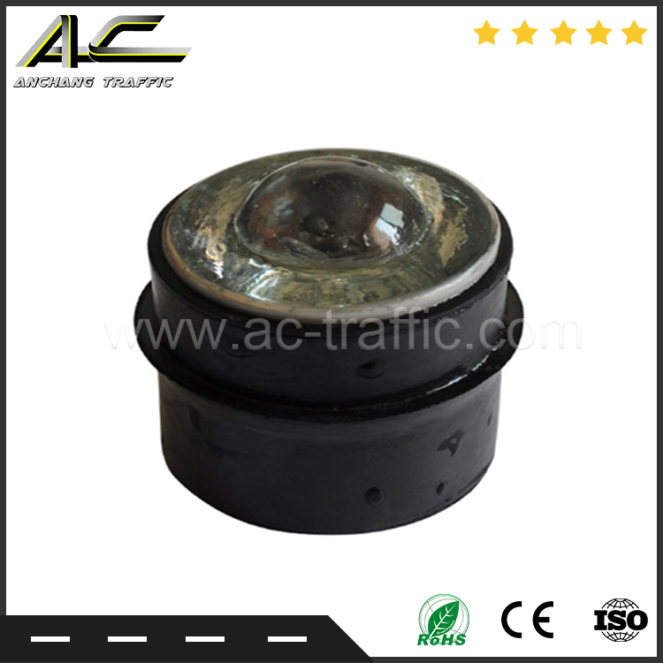 Reflective Material Road Stud Pavement Marker Anti-collision Warning Spike Yellow Led Fancy Colours Roadway Safety