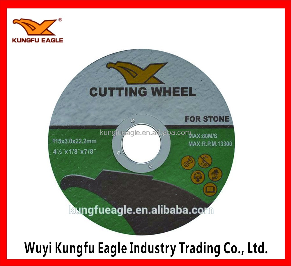 115*3*22.2mm Resin Hard Cutting wheel Cutting disc for stone
