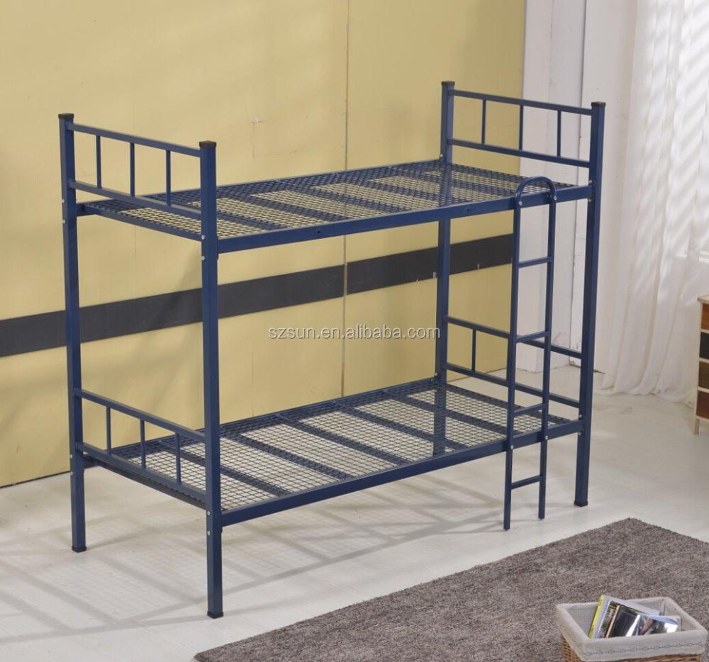 Diseño Comercial Muebles De Alta Calidad Doble Decker Cama De Hierro ...