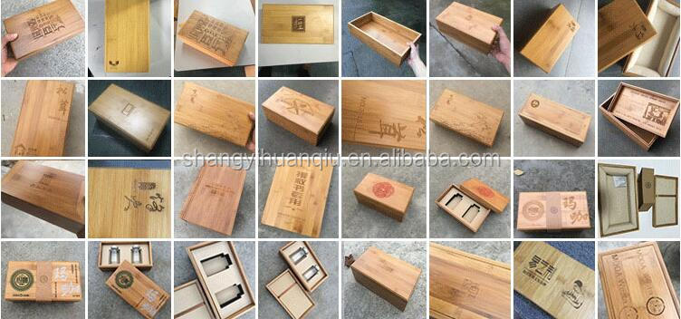 Custom Teacup Packaging Wooden Set Storage Box