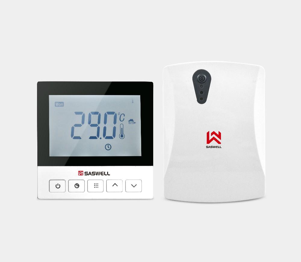 Gran pantalla lcd digital programable termostato de for Termostato digital calefaccion programable
