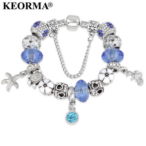 KEORMA Latest bangles and bracelet designs zinc alloy charms for bracelet outdoor wholesale in yiwu