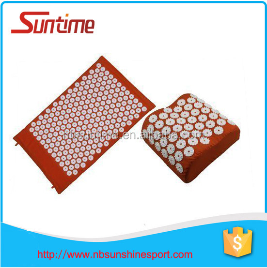 high quality acupressure mat and pillow set,acupressure mat and pillow with bonus carry bag
