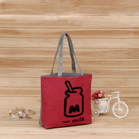 Manufacturers wholesale ladies cotton handle clothing bags custom made eco friendly canvas handbag