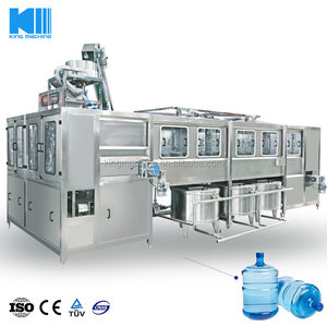 Monoblock 3Gallon / 5Gallon plastic barrel bottle water production line