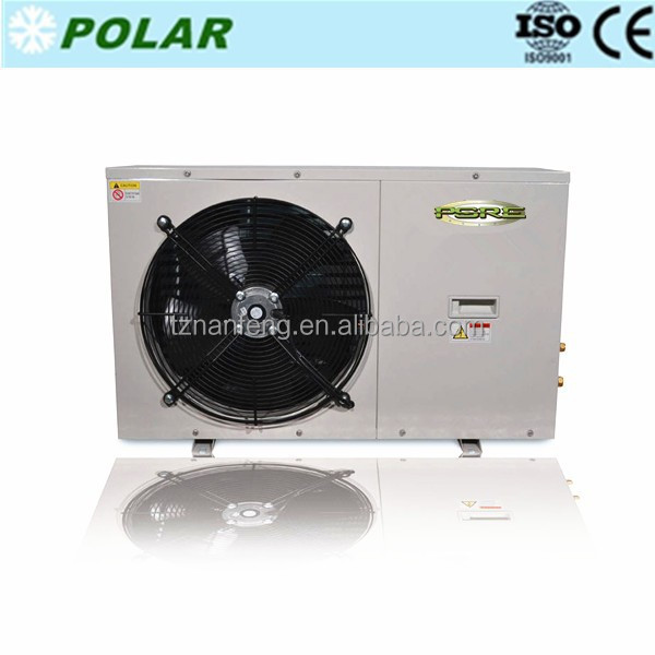 0.5HP 0.75HP 1HP 1.5HP 2HP 2.5HP Small refrigeration condensing unit with rotary compressor