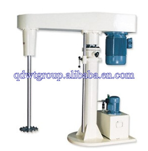 variable speed hydraulic lift ink dispersion mixer