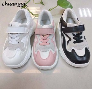 Factory wholesale kids trainers shoes fashion shoes sneaker soft baby boy girl casual foot wear children hand made sport shoe