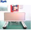 Wireless high brightness led panel programable taxi top billboard with CE ROHS FCC Certificate