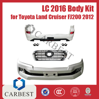 High Quality New 2016 Land Cruiser Body Kit Body Kit For Toyota LC FJ200 2012