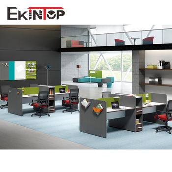 Modern Office Furniture Modular Partition Cubicle Workstation