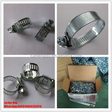 Hose clamp taiwan 3/4 Hose clamp with box Hose clip with box hard material 8mm bandwith
