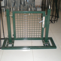 good quality steel garden gate with lock for sale
