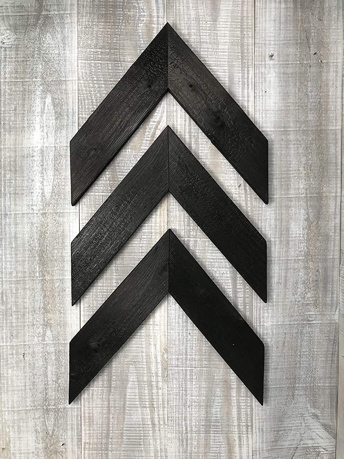 Shou Sugi Ban Wood Arrows | Torched Wood | Set of 3 | 100% Handmade in the USA with FSC-Certified Wood