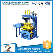 New concrete hot selling paving brick professional machine,paving block making machine JW-QTY2-20