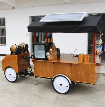 Mobile Coffee Shop Four Wheel Coffee Bike On Hot Sale