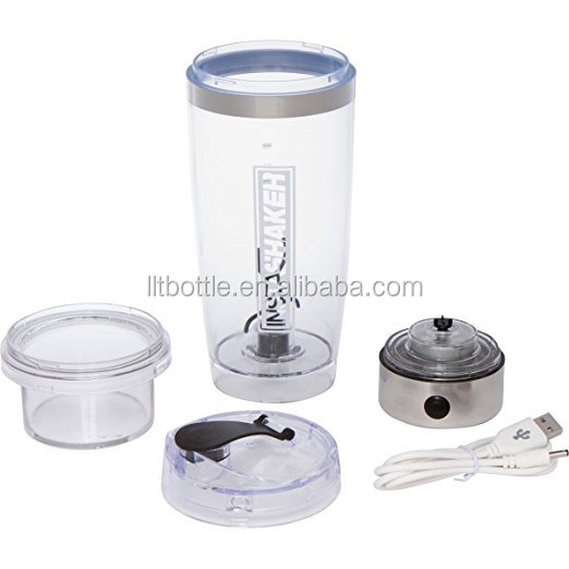 usb portable protein shake electric vertox shaker bottle