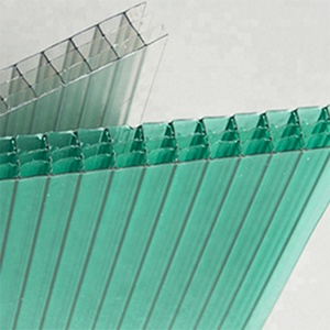 skylight polycarbonate building material plastic four wall hollow sheet