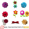 Wholesale alibaba hand made die cut felt flower shapes