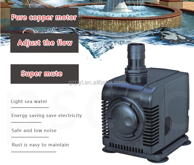 5000 L//h Boyu FP-5000 Bomba de Agua Ajustable 85W