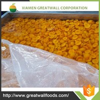 BRC certified IQF apricot halves fruits