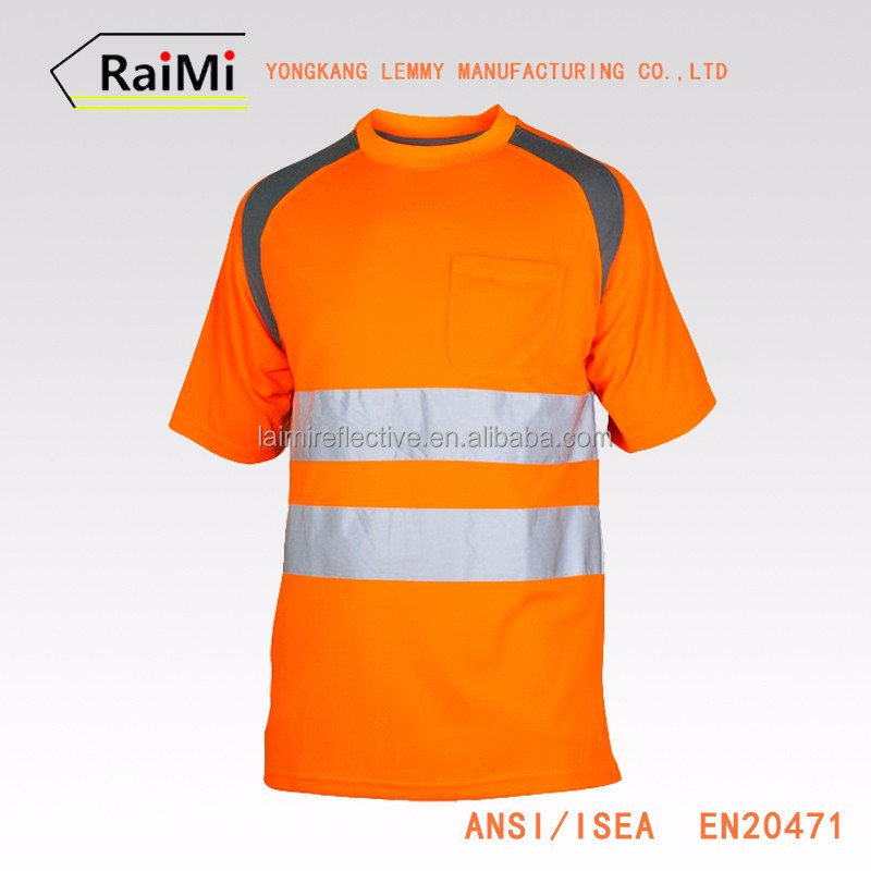 Guaranteed Quality safety reflective indian t shirt manufacturers
