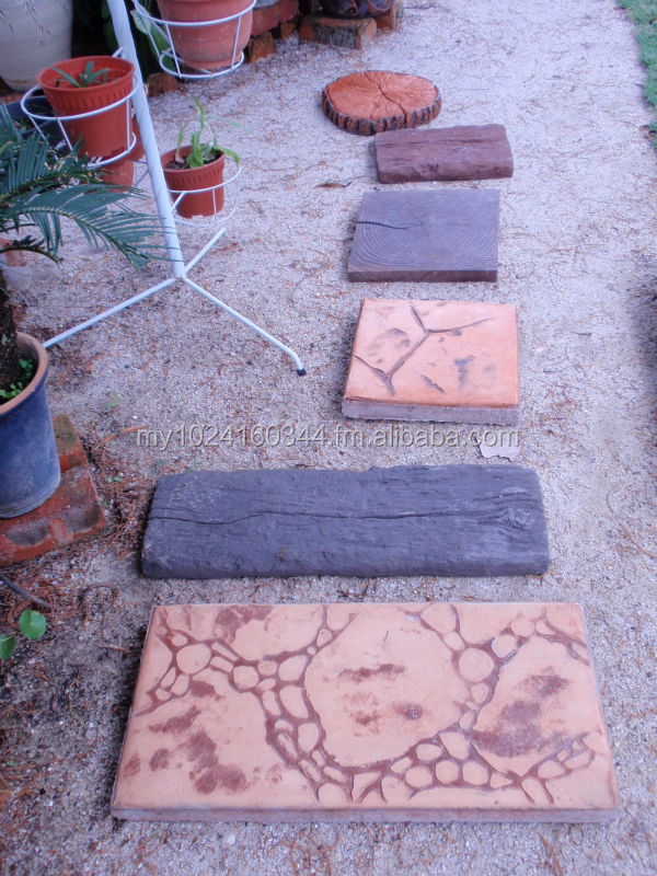 Concrete Imprint Slab