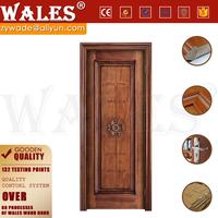Customizable type engineered wood 4 panel pine 30x80 door