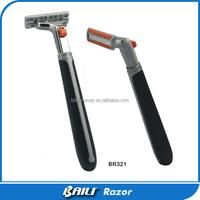 Shaver Practical Male Shaving Razor With Cream Disposable Razor Hotel Amenity Traveling Set