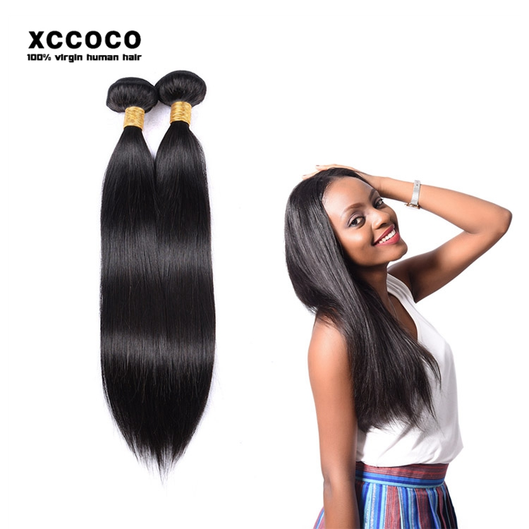 Wholesale No Chemical Processed Brazil Human Hair Extension With 13*4 Inch Closure Lace Frontal