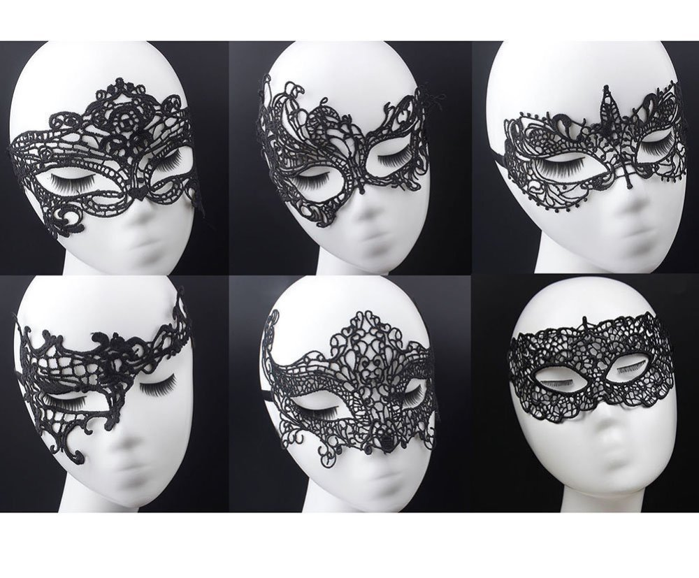 Venetian Masquerade Lace Eyemask Eye Mask for Halloween Masquerade Party,Costume Mask Masquerade For Women