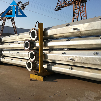 Competitive price china manufacture galvanized tubular steel electrical pole